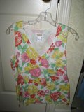 Talbots Floral Sleeveless Top - M in Houston, Texas