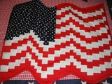 American Flag Wall Hanging Custom Made in The Woodlands, Texas