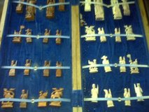 ivory  chess set collector item in Cherry Point, North Carolina