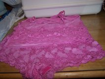#(936) LADIES PINK LACE PANTY AND CHEMISE SET SIZE in Fort Hood, Texas