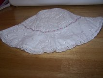 #(982) EYELET LACE BABY SUNHAT - $4 in Fort Hood, Texas