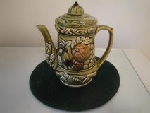 porcelain fruited vintage teapot in The Woodlands, Texas