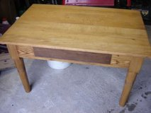 Antique beech table as sofa table *REDUCED* 50% in Ramstein, Germany