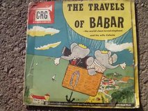 The Travels of Babar  78 rpm record set in Alamogordo, New Mexico