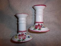 ceramic candle holders in Fort Riley, Kansas