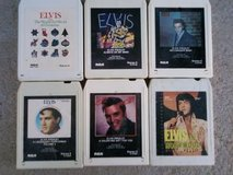 Elvis 8- Track Tapes  (6) in Alamogordo, New Mexico