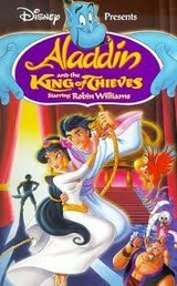 Aladdin VHS - Aladdin & the King of Thieves in Houston, Texas